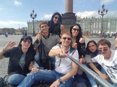 Пешеходные экскурсии по Санкт-Петербургу