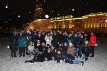 На каникулы в Санкт-Петербург