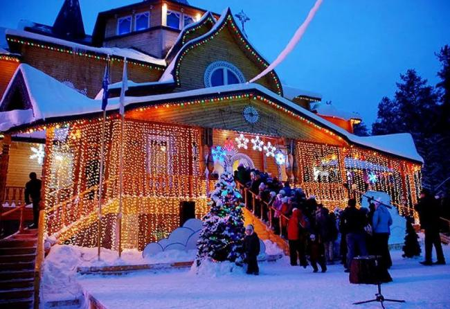 Новогодние приключения на Русском Севере