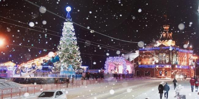 Новогодний тур по Золотому кольцу 2021 в Русской деревне!