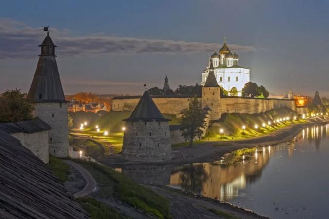 Средневековые города Псковской области